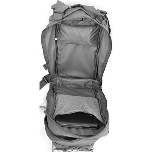 Explorer Tactical Backpack 7 Explorer Tactical 72 Hours Combat Rucksack 17 Inch Backpack-Black with Pick Stripes