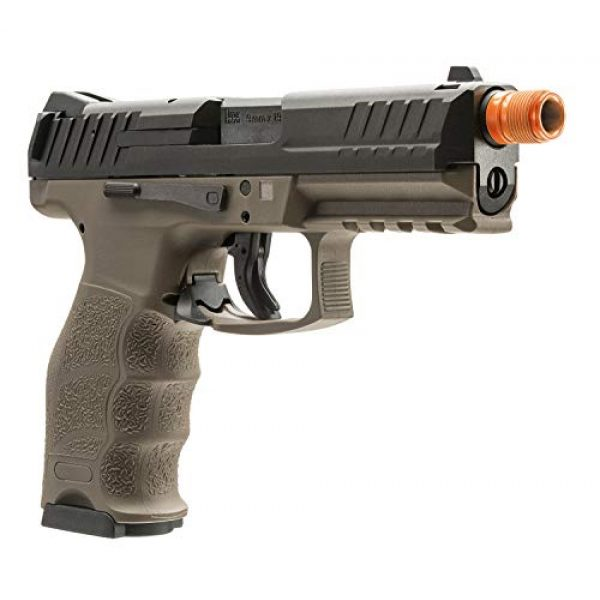 Elite Force Airsoft Pistol 4 Elite Force HK Heckler & Koch VP9 GBB Blowback 6mm BB Pistol Airsoft Gun, FDE, Multi, One Size (2275025)