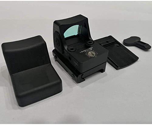 TTHU Rifle Scope 6 TTHU Red Dot Sight Scope Optical Micro Reflex Sight Rifle Scope Fit 20Mm Weaver Rail for Hunting Scopes