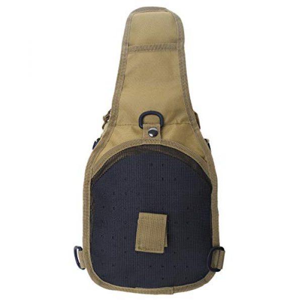TOPTIE Tactical Backpack 3 TOPTIE Tactical Sling Bag, EDC Molle Sling Bag Range Bag, Camping Hiking Trekking