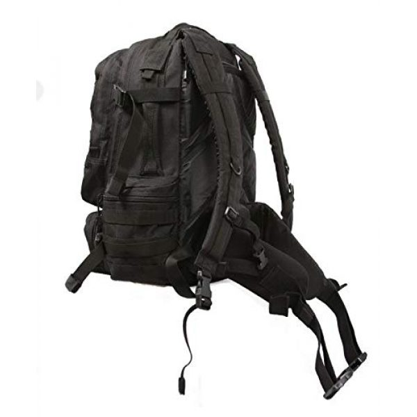 LA Police Gear Tactical Backpack 3 LA Police Gear Operator MOLLE Tactical, Military, Police Backpack Hydration Compatible