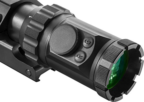 BARSKA Rifle Scope 5 Barska AC12138 Rifle Scope 1-6x32 Red/Green Illuminated Mil-Dot Reticle with Cantilever Ring