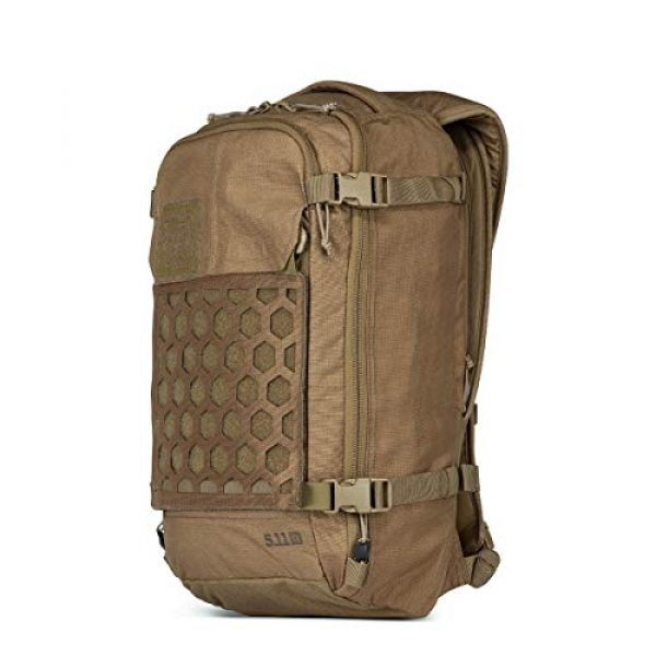 5.11 Tactical Backpack 2 5.11 Tactical Men's AMP12 Essential Backpack, Includes Hexgrid 9x9 Gear Set, 25 Liters, 1050D Nylon, Style 56392