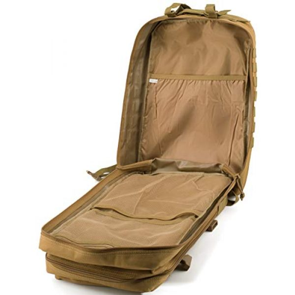 Luckin Packin Tactical Backpack 7 Luckin Packin Military Tactical Backpack, Molle Bag, Rucksack Pack, 45 Liter Large