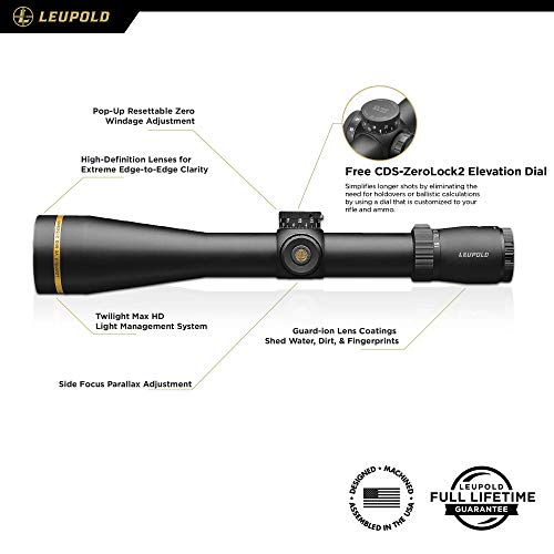 Leupold Rifle Scope 2 Leupold VX-5HD 3-15x56mm Riflescope