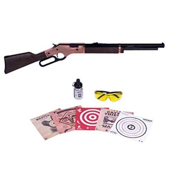 Barra Air Rifle 1 Barra Airguns 1866 Air Rifle Rosie Bundle Kit .177 Cal Pellet and BB Gun for Kids and Youth