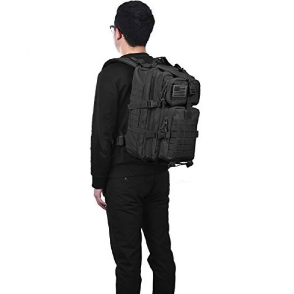 REEBOW GEAR Tactical Backpack 6 Military Tactical Backpack Small 3 Day Assault Pack Army Molle Bag Rucksack