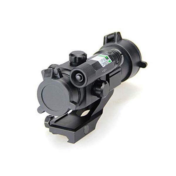 DJym Rifle Scope 4 DJym Blue Film Inside Red Dot Sight, High-Definition Red Dot Fast Sight Waterproofing Anti-Fog Seismic Gift-Level Sight