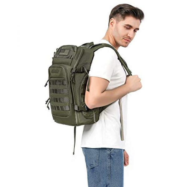 MOSISO Tactical Backpack 7 MOSISO 30L Tactical Backpack, Military Daypack 3 Day Assault Molle Rucksack Bag