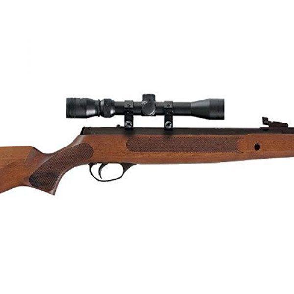 Hatsan Air Rifle 3 Hatsan Striker Wood Combo .25cal Airgun, Hardwood, Black