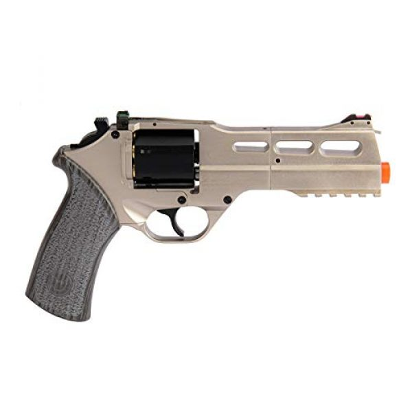 Lancer Tactical Airsoft Pistol 2 Lancer Tactical Limited Edition Airsoft Pistol Chiappa Rhino 50DS CO2 Revolver Silver 328 FPS
