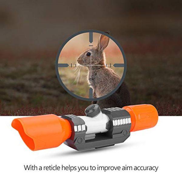 Yolispa Nerf Gun Scope 1 Yolispa Scope Sight Attachment with Reticle Accessory for Modify Toy Accessories