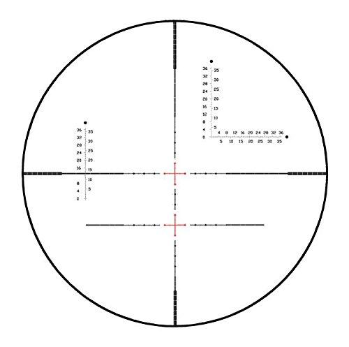 Visionking Rifle Scope 4 Visionking Rifle Scope 10-40x56 Red & Green Illuminated Crosshair 35mm Tube Gun Scopes for Hunting