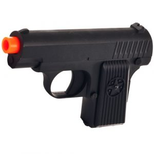 Whetstone Airsoft Pistol 1 Whetstone G.11 Zinc Alloy Shell Airsoft Pistol, Black