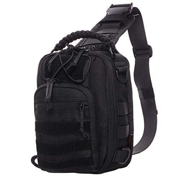 ANTARCTICA Tactical Backpack 1 ANTARCTICA Tactical Sling Bag Pack Military Rover Shoulder Bag Molle Assault Range Bag Backpack 1050D