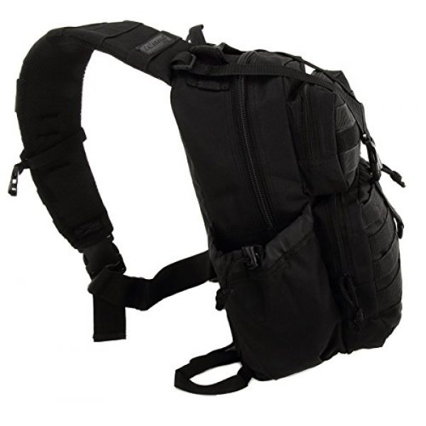 NPUSA Tactical Backpack 4 NPUSA Mens Tactical Gear Molle Hydration Ready Sling Shoulder Backpack Daypack Bag