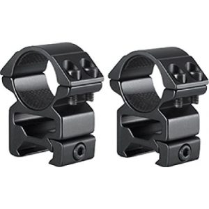 Hawke Rifle Scope 1 HAWKE 2pc Match Series Weaver Scope Rings, 1in, High, QuickPeep HM7103