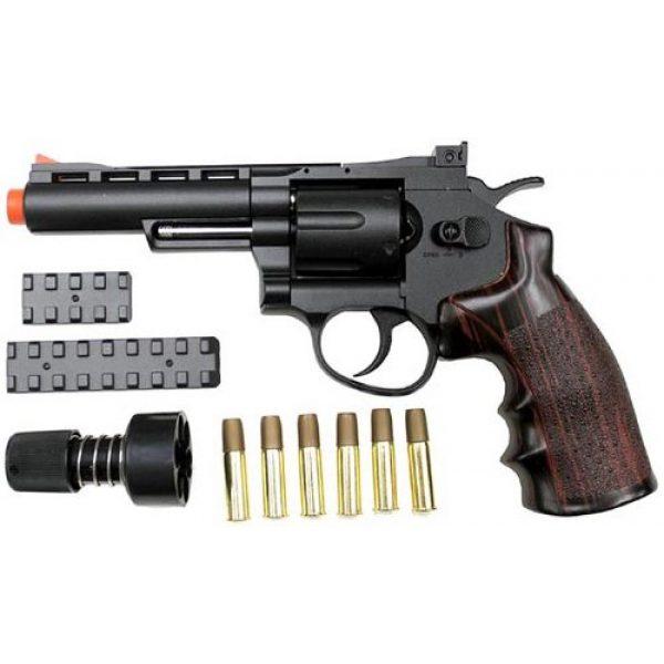 WinGun Airsoft Pistol 1 WinGun 701 4 revolver co2 gas gun bk(Airsoft Gun)