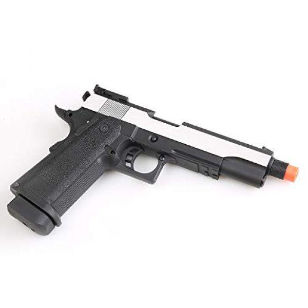 SRC Airsoft Pistol 5 SRC Hi-Capa 5.1 Dual Tone Co2 Airsoft Pistol Matte Finish [Airsoft Blowback]