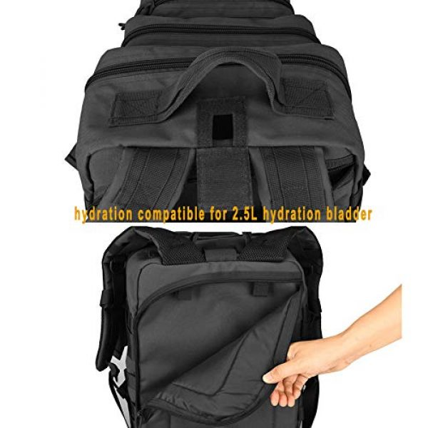 BOW-TAC Tactical Backpack 7 BOW-TAC Military Tactical Backpack Small Assault Pack Army Molle Bag Backpacks
