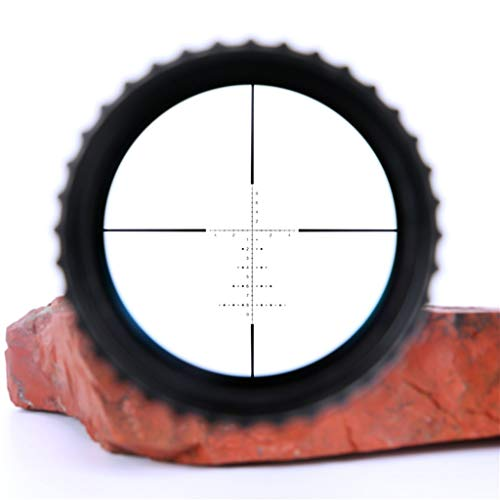 WSHA Rifle Scope 6 WSHA 6-24X50 First Focal Plane Rifle Scope - 30mm Hunting Sniper Optical Sight, Precision Shooting, Adjustable Objective