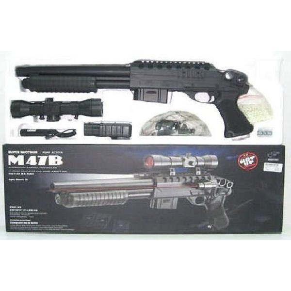 Double Eagle Airsoft Rifle 2 220 FPS Double Eagle Spring Airsoft Mac 10 Uzi Gun w/Sample BBs