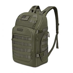 MOSISO Tactical Backpack 1 MOSISO 30L Tactical Backpack, Military Daypack 3 Day Assault Molle Rucksack Bag