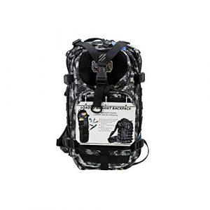 G.P.S. Tactical Backpack 1 G.P.S. Tactical Range Backpack, Gray Digital