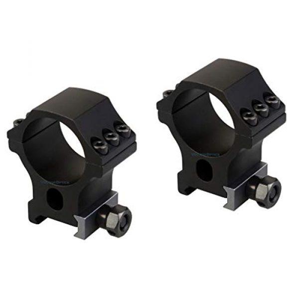 Vector Optics Rifle Scope 7 Vector Optics Zalem 1-10x24 Second Focal Plane (SFP) Riflescope with Red Illuminated Reticle, 30mm Tube, 1/10 MIL Adjustment, Turret Lock System, Zero Reset Feature, Free Mount Rings, Lens Caps