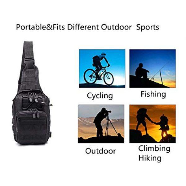 esbuy Tactical Backpack 7 Tactical Backpack Outdoor Shoulder Bag Satchel Sling Chest Packs Daypacks