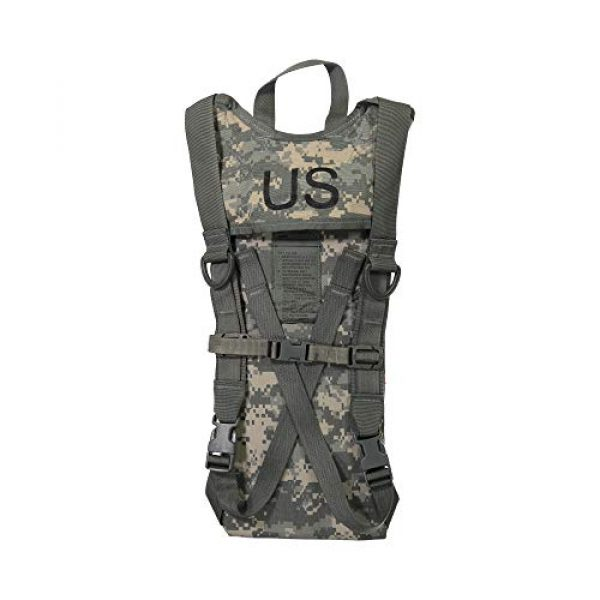 McGuire Gear Tactical Backpack 2 Genuine US Military GI (100 Oz.) MOLLE Hydration Carrier with 3L/100 Oz. Bladder