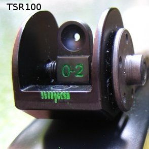 Tech SIGHT Rifle Sight 3 Tech SIGHT TSR100 Adjustable Aperture Sight for The Ruger 10/22 Rifles
