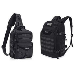 MOSISO Tactical Backpack 1 MOSISO Tactical Backpack & Slingbag