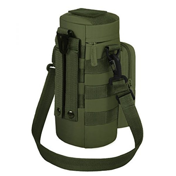 East West U.S.A Tactical Backpack 4 East West U.S.A RT521 Tactical Water Bottle Pouch Military Molle Pack Gear Waist Back Pack