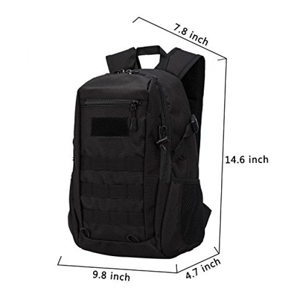 Wowelife Tactical Backpack 3 Wowelife Mini Tactical Backpack 10L Small Military Day Pack School Bag for Hunting Camping Trekking Travel