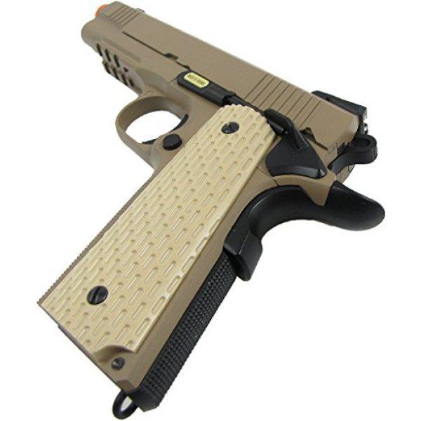 WE Airsoft Pistol 6 WE combat 191 gas blowback full metal - tan(Airsoft Gun)