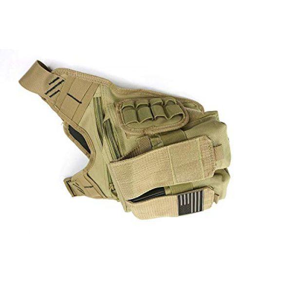 K-Cliffs Tactical Backpack 6 Rapid Deployment Push Pack Tactical Range Bag Responders Utility Sling Bags Tan