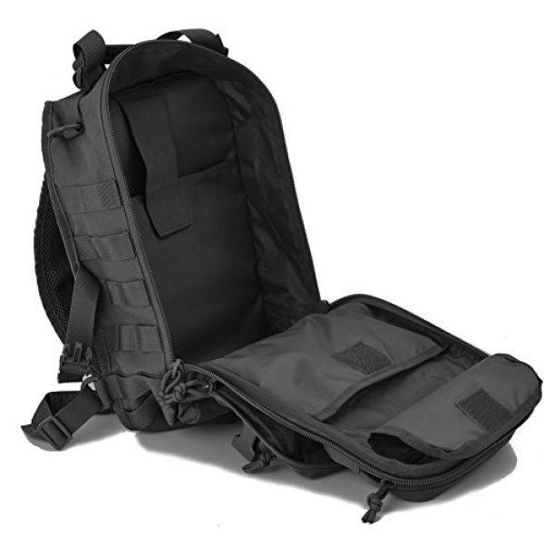 Gowara Gear Tactical Backpack 7 Gowara Gear Tactical Sling Bag Pack Military Backpack Range Bags Black