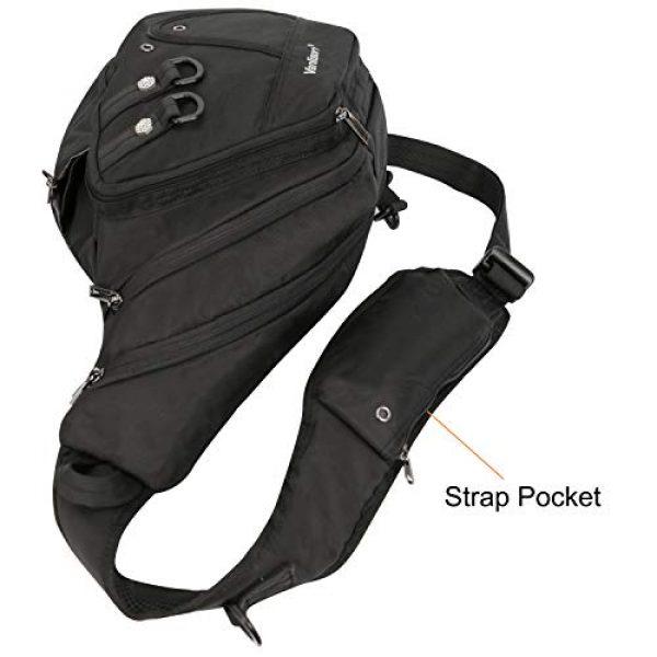 Vanlison Tactical Backpack 6 Vanlison Large Sling Bag Chest Shoulder Bag Purse Backpack Crossbody Bags for Men Women