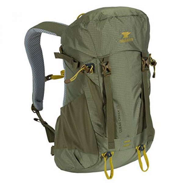 Mountainsmith Tactical Backpack 1 Mountainsmith Clear Creek 25 Hiking Pack (Moss Green)