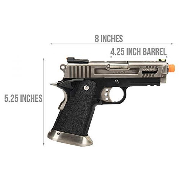 WE Airsoft Pistol 2 WE TECH 3.8 HI-CAPA Full Metal Gas Blowback Airsoft Pistol