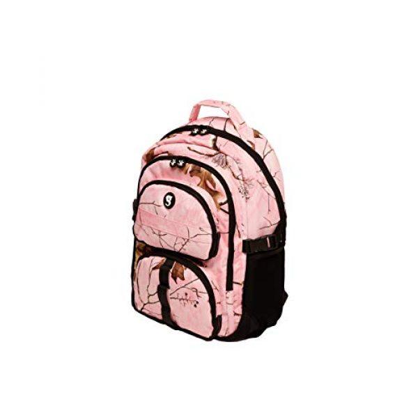 geckobrands Tactical Backpack 4 geckobrands Optivate RT18 Realtree Camouflage Backpack for School & Work