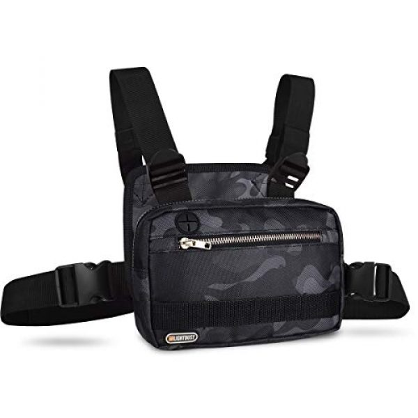 LIGHT DUST Tactical Backpack 1 LIGHT DUST Outdoor Sports Chest Bag,Tactical Chest Bag, Men's and Women's Equipment. Leisure Running, Hiking
