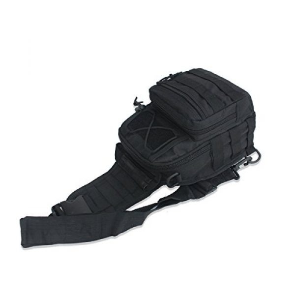 Dunnta Tactical Backpack 4 Dunnta Tactical Sling bag, Military Sport Bag EDC Molle Pack Daypack for Camping, Hiking, Trekking, Rover Sling