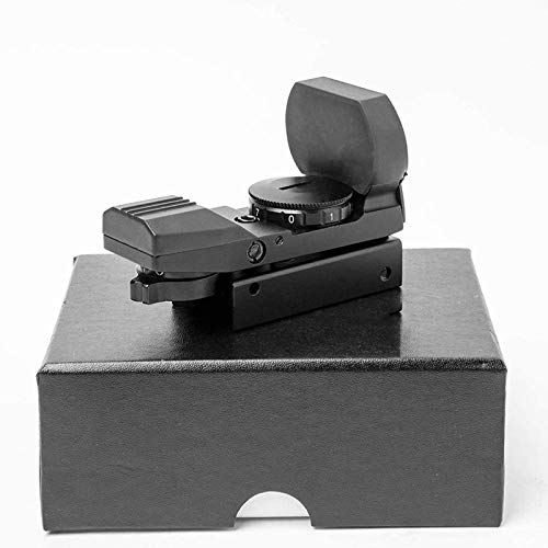 TTHU Rifle Scope 5 TTHU Rifle Scope Red Dot Sight 4 Reticles Gun Sight 4 Reticles Green and Red Air Scope Reflex Sight for Telescope Hunting Paintball