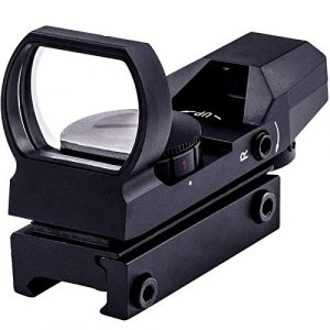 SUIYEU Rifle Scope 1 SUIYEU 1X22X33 Red Green Dot Gun Sight Scope Reflex Sight with 20mm Rail
