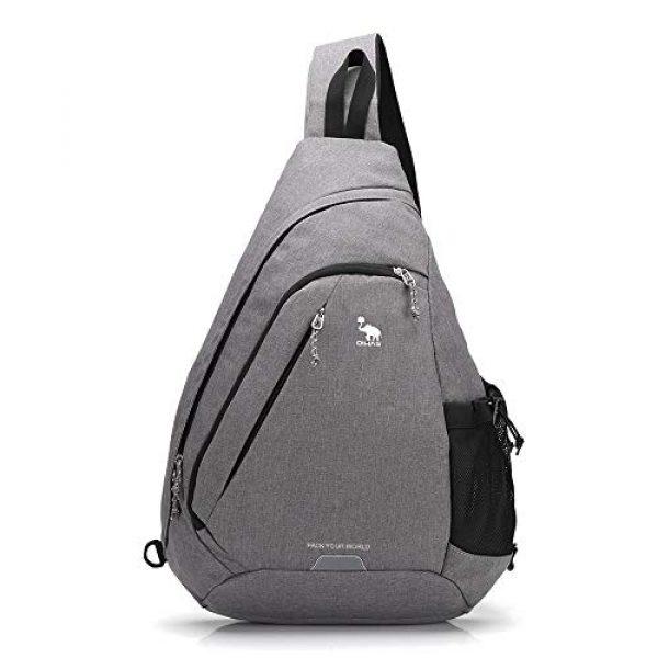 Kimlee Tactical Backpack 1 OIWAS One Strap Backpack for Men Single Strap Backpack Sling Bag Crossbody Shoulder Daypack for Boys Women