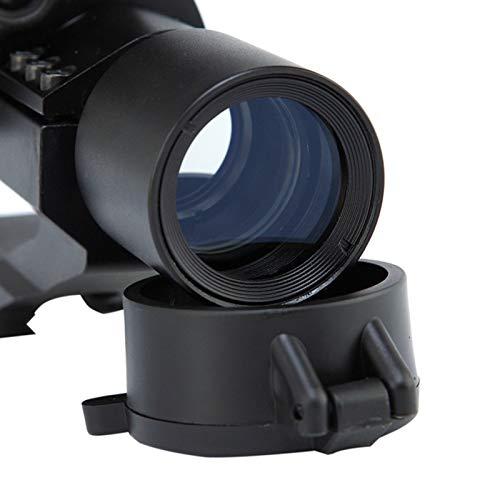 UELEGANS Rifle Scope 4 UELEGANS Red Dot Sight, 1X30mm Hunting Riflescope Sight Red Green Dot Rifle Scope Riflescope for 20mm Rail