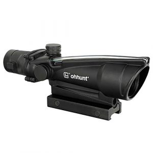 ohhunt Rifle Scope 1 ohhunt 3.5X35 Rifle Scopes Fiber Illuminated Tactical Hunting Optics Sights