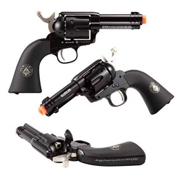 Wearable4U Airsoft Pistol 4 Wearable4U Umarex Limited Ed - Legends Gambler Custom Revolver Airsoft BB Airgun with 5X 12gr CO2 Tanks Pack of 1000 6mm EF BBS Bundle
